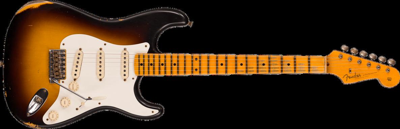 Limited Edition - 1957 Stratocaster® - Relic®, Wide-fade 2-Color Sunburst