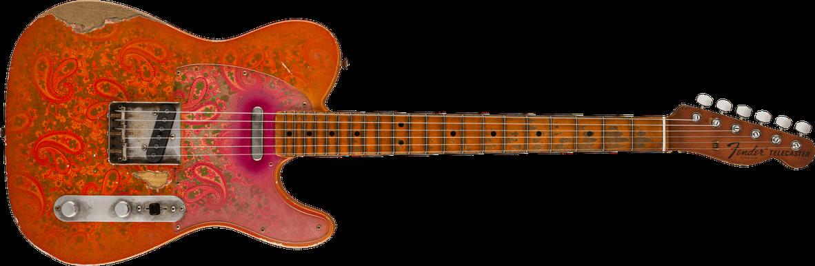 Custom '67 Telecaster® - Relic®, Masterbuilt By Dale Wilson, Tangerine Paisley