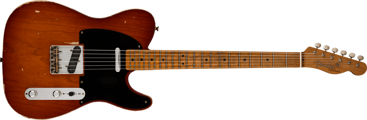 Custom '52 Telecaster® - Relic®, Masterbuilt By Todd Krause, Violin Burst