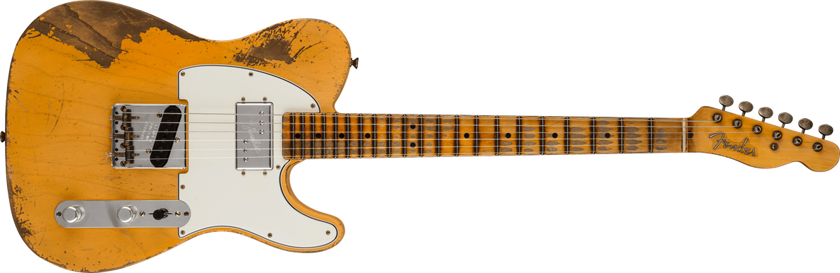 Custom '74/'51 Nocaster® - Heavy Relic®, Masterbuilt By Ron Thorn, Nocaster Blonde