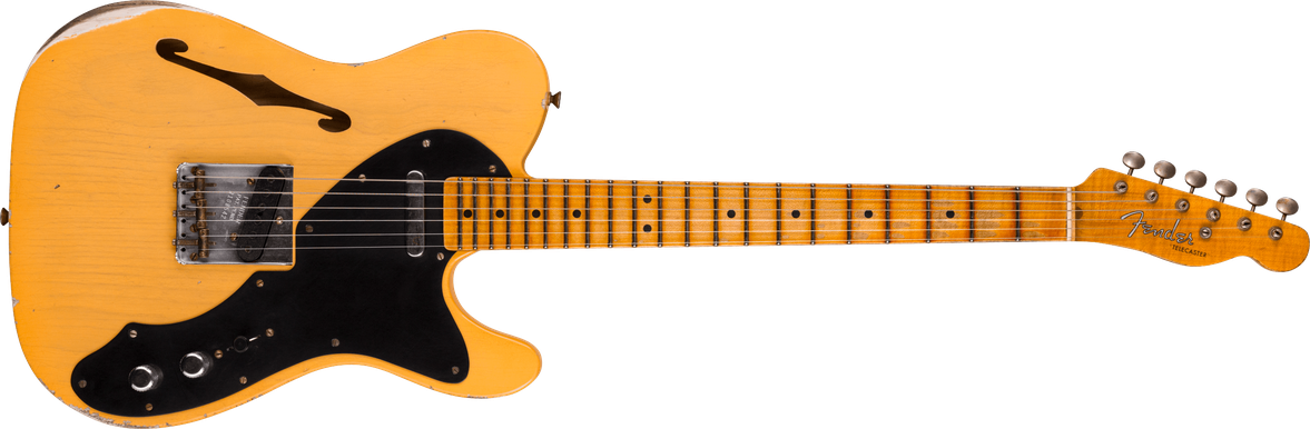 Limited Edition - Blackguard Telecaster® Thinline - Relic®, Aged Nocaster Blonde