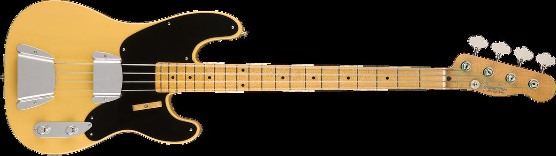 Vintage Custom 1951 Precision Bass® NOS, Maple Fingerboard, Nocaster Blonde