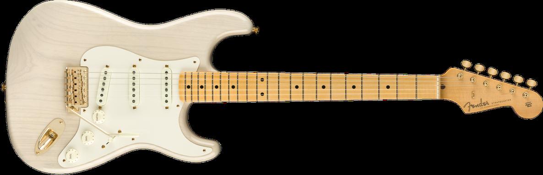 2019 Vintage Custom 1957 Strat® NOS, Maple Fingerboard, Aged White Blonde