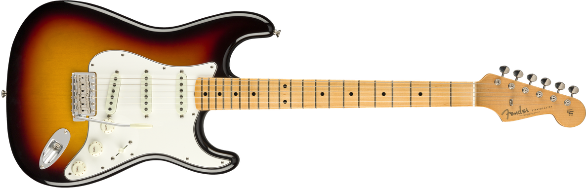 2019 Vintage Custom 1962 Strat® NOS, Maple Fingerboard, 3-Color Sunburst