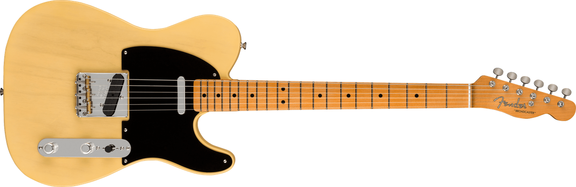 Limited Edition - Limited Edition 70th Anniversary Broadcaster®, Time Capsule Finish, Faded Nocaster® Blonde