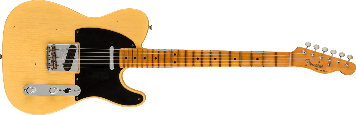 Limited Edition - Limited Edition 70th Anniversary Broadcaster®, Journeyman Relic®, Nocaster® Blonde