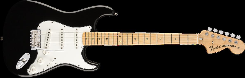 Robin Trower Signature Stratocaster®, Maple Fingerboard, Black