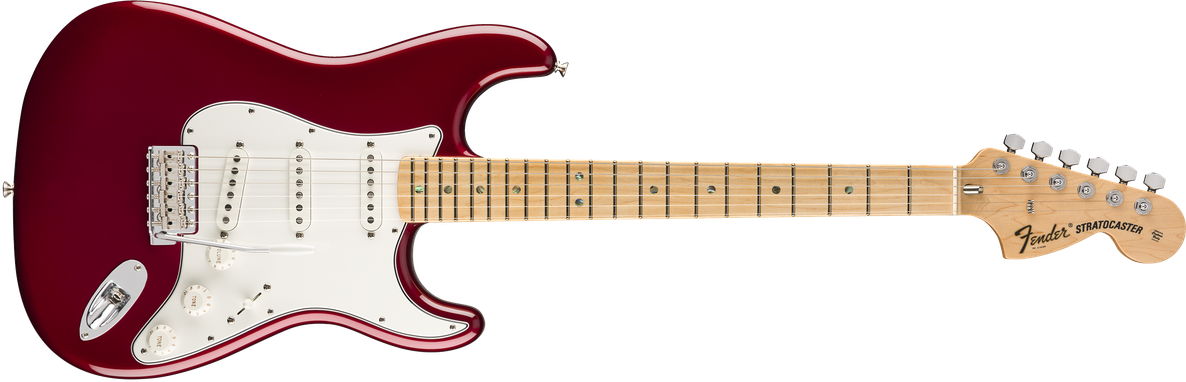 Robin Trower Signature Stratocaster®, Maple Fingerboard, Midnight Wine Burst