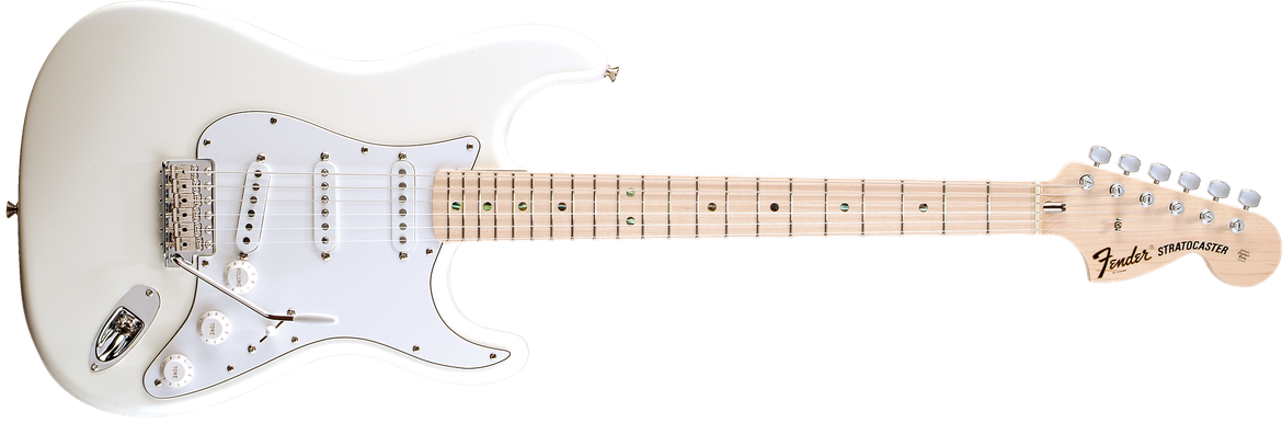 Robin Trower Signature Stratocaster®, Maple Fingerboard, Arctic White