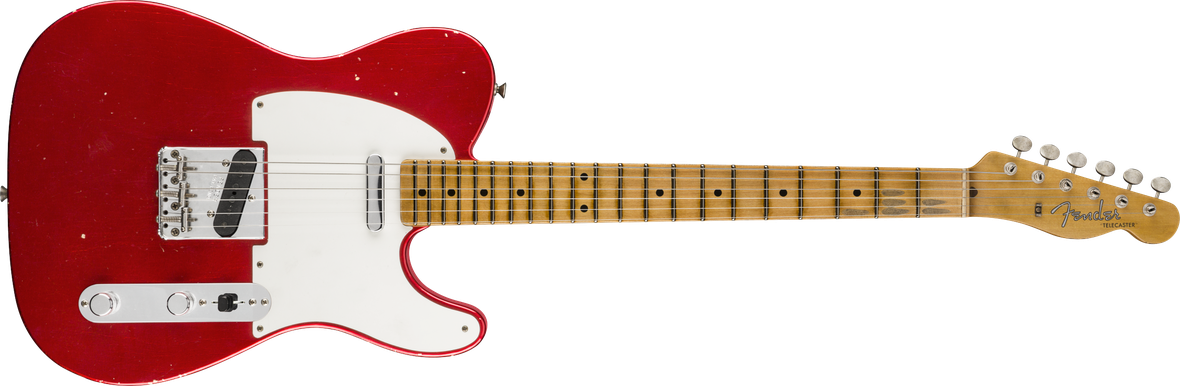 1957 Telecaster® Journeyman Relic®, Maple Fingerboard, Aged Candy Apple Red