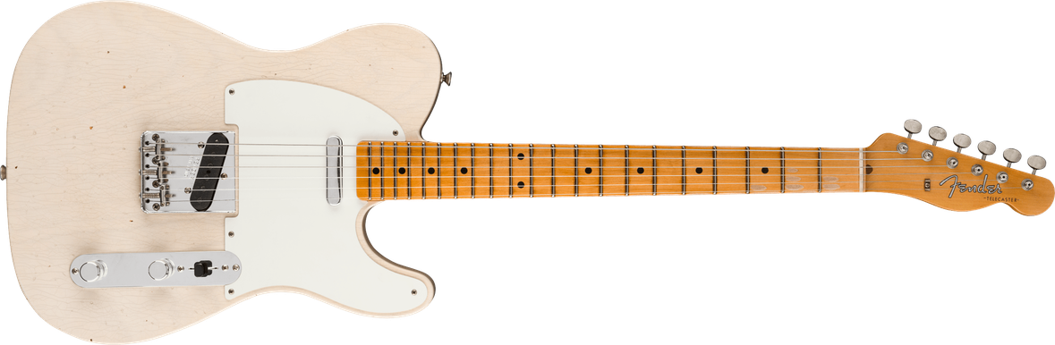 1957 Telecaster® Journeyman Relic®, Maple Fingerboard, Aged White Blonde