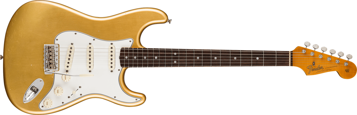 1964 Stratocaster® Journeyman Relic®, Rosewood Fingerboard, Aged Aztec Gold