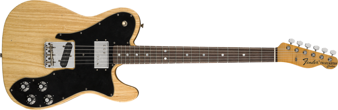 Limited Edition - Limited Edition 70's Telecaster® Custom Journeyman Relic®, Rosewood Fingerboard, Aged Natural