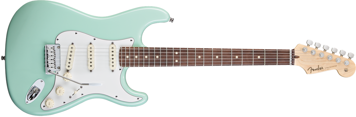 Jeff Beck Signature Stratocaster®, Rosewood Fingerboard, Surf Green