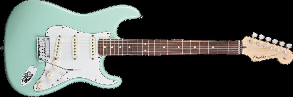 Jeff Beck Signature Stratocaster®, Rosewood Fingerboard, Surf Green