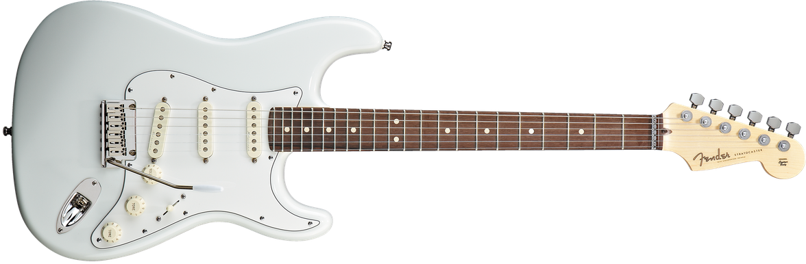 Jeff Beck Signature Stratocaster®, Rosewood Fingerboard, Olympic White