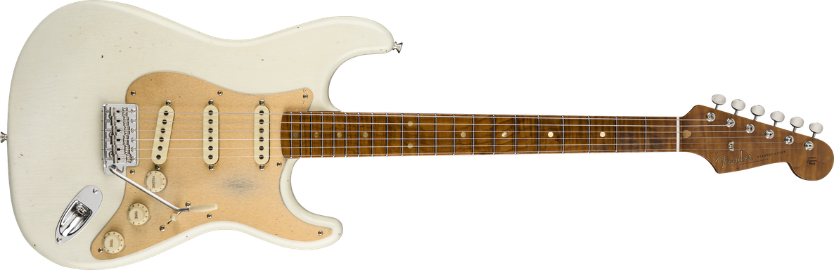 Limited Edition - Limited Edition '58 Special Strat®, Aged Olympic White, Journeyman Relic®