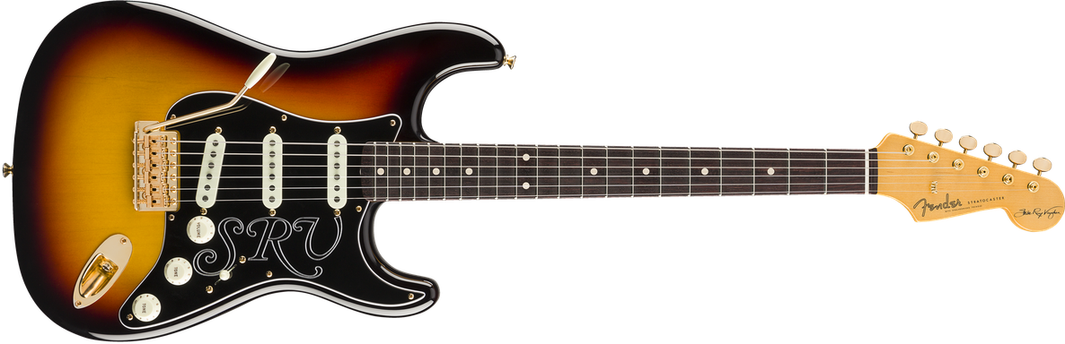 Stevie Ray Vaughan Signature Stratocaster®, Rosewood Fingerboard, 3-Color Sunburst