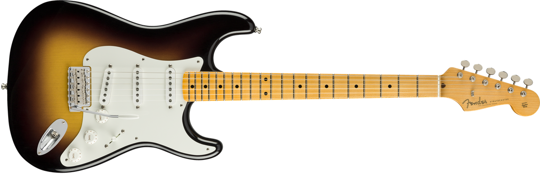 Jimmie Vaughan Stratocaster®, Maple Fingerboard, Wide Fade 2-Color Sunburst
