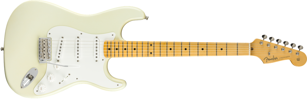 Jimmie Vaughan Stratocaster®, Maple Fingerboard, Aged Olympic White