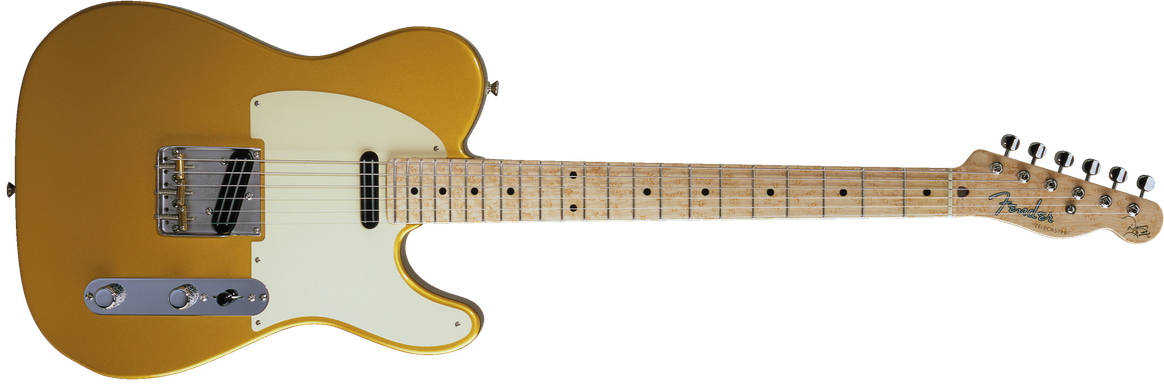 Danny Gatton Signature Telecaster®, Maple Fingerboard, Frost Gold
