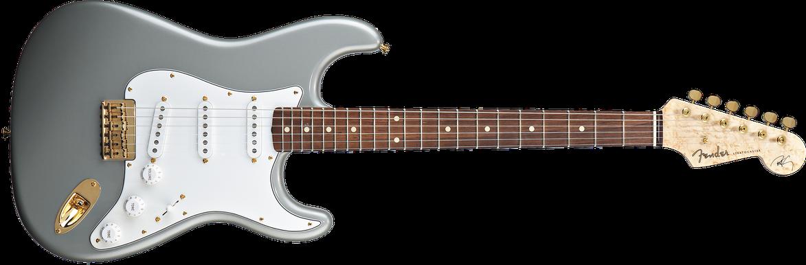 Robert Cray Signature Stratocaster®, Rosewood Fingerboard, Inca Silver