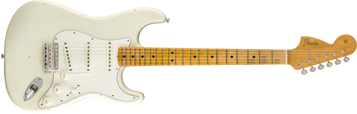 Jimi Hendrix Voodoo Child Signature Stratocaster® Journeyman Relic®, Maple Fingerboard, Olympic White