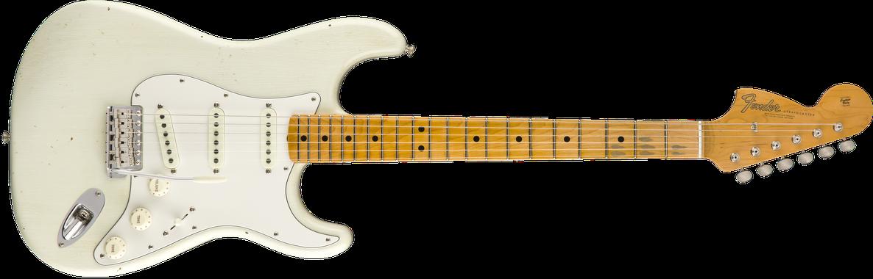 Jimi Hendrix Voodoo Child Signature Stratocaster® Journeyman Relic®, Maple Fingerboard, Olympic White