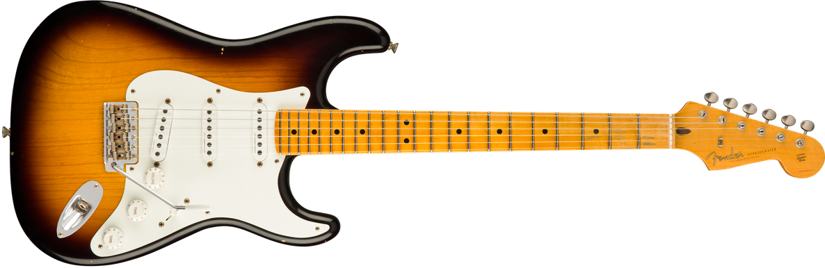 Eric Clapton Signature Stratocaster® Journeyman Relic®, Maple Fingerboard, 2-Color Sunburst