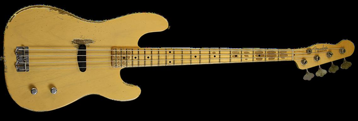 Dusty Hill Signature Precision Bass®, Maple Fingerboard, Nocaster® Blonde