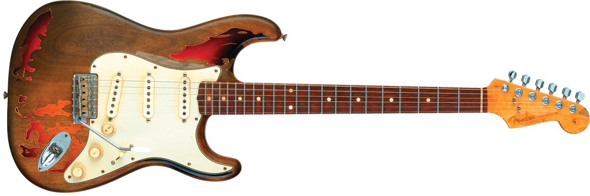 Rory Gallagher Signature Stratocaster® Relic®, Rosewood Fingerboard, 3-Color Sunburst