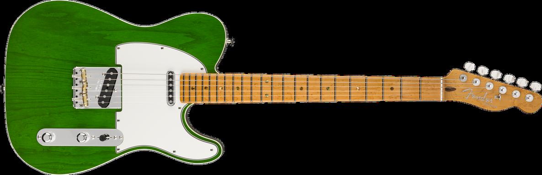 American Custom Telecaster®, Maple Fingerboard, Emerald Green Transparent, NOS