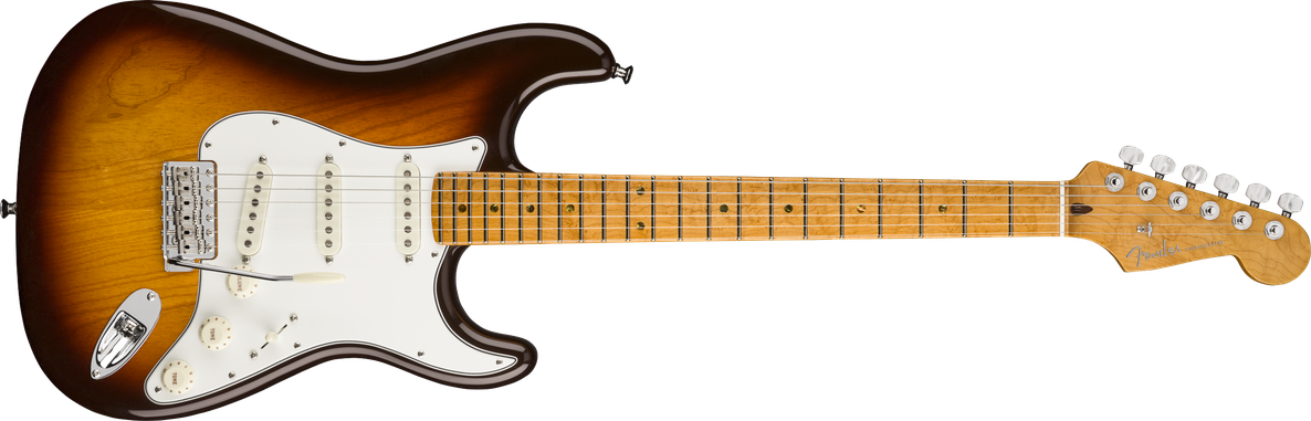 American Custom Stratocaster®, Maple Fingerboard, Antique Burst, NOS