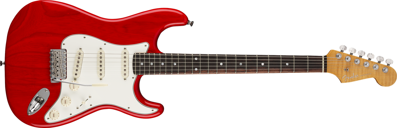 American Custom Stratocaster®, Rosewood Fingerboard, Crimson Transparent, NOS