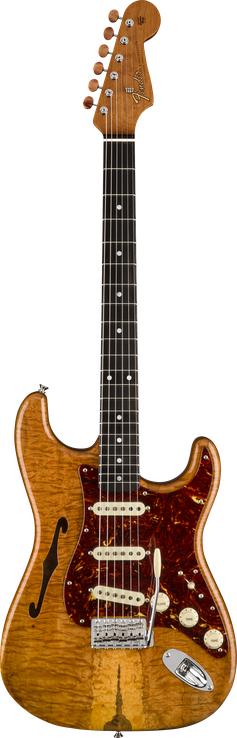 Artisan Spalted Maple Thinline Stratocaster®
