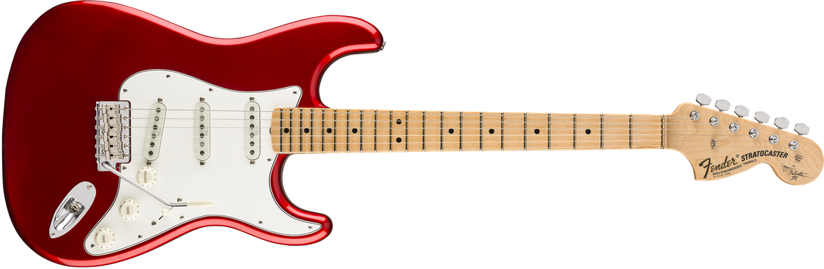Yngwie Malmsteen Signature Stratocaster®, Scalloped Maple Fingerboard, Candy Apple Red