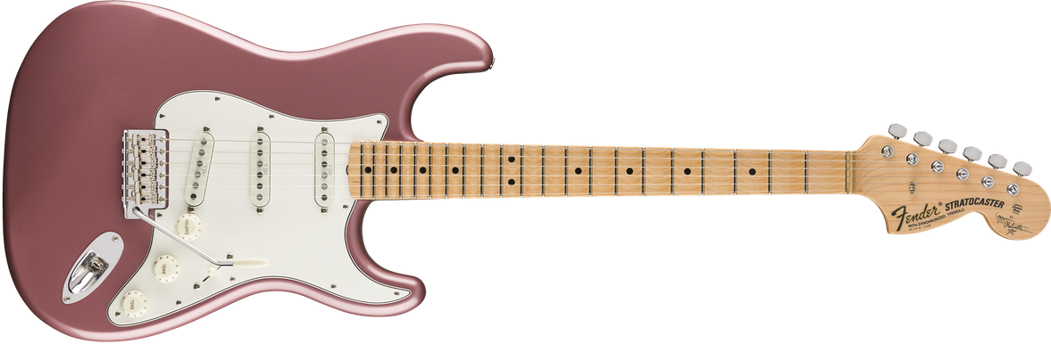 Yngwie Malmsteen Signature Stratocaster®, Scalloped Maple Fingerboard, Burgundy Mist Metallic