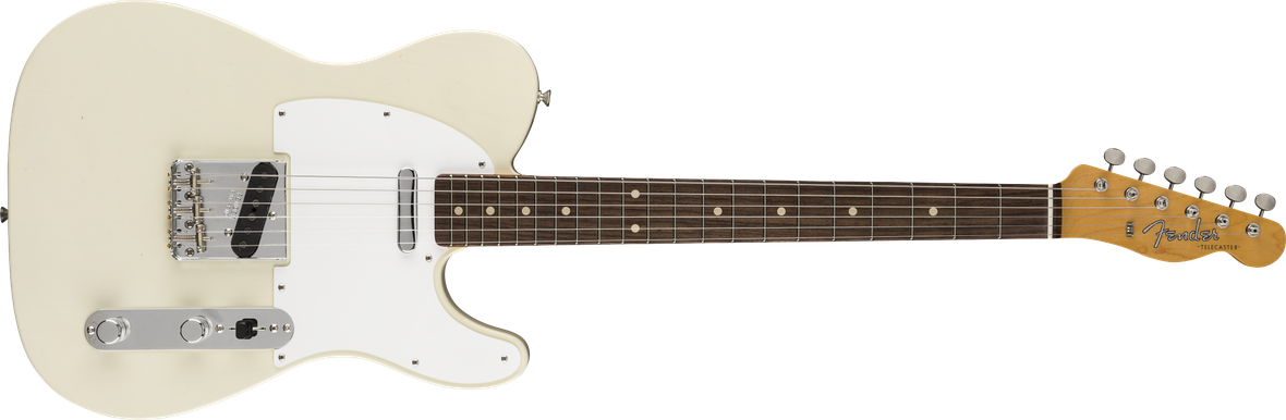 Jimmy Page Signature Telecaster® Journeyman Relic®, Maple Fingerboard, White Blonde