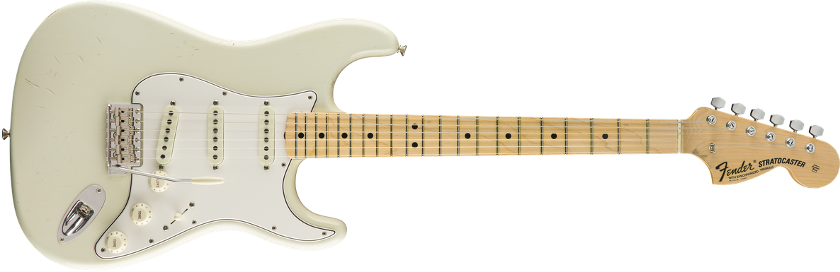 Limited Edition Jimi Hendrix Stratocaster®, Maple Fingerboard, Aged Olympic White