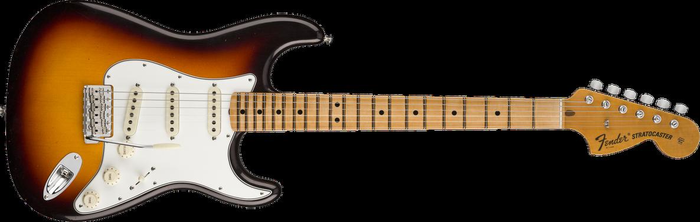 1970 Stratocaster® Journeyman Relic®, Maple Fingerboard, Faded 3-Color Sunburst