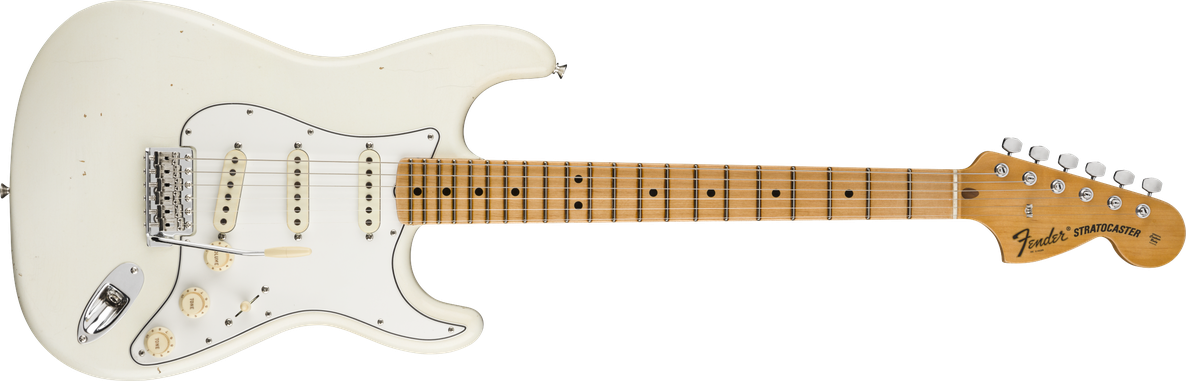 1970 Stratocaster® Journeyman Relic®, Maple Fingerboard, Aged Olympic White