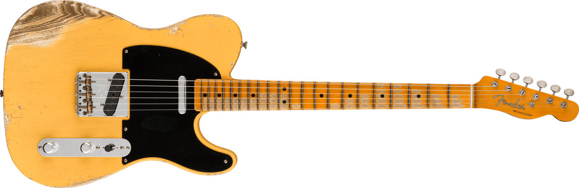 Limited Edition - Limited Edition 70th Anniversary Broadcaster®, Heavy Relic®, Aged Nocaster® Blonde