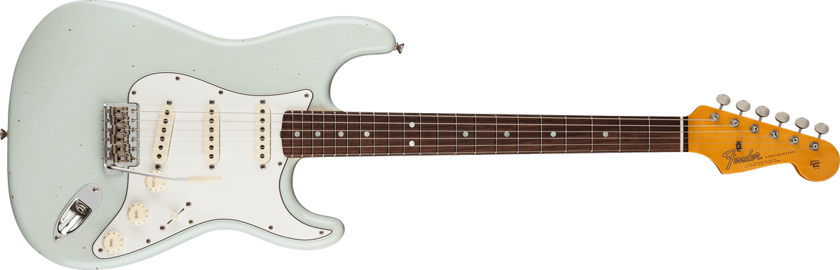 1964 Stratocaster® Journeyman Relic®, Rosewood Fingerboard, Super Faded Aged Sonic Blue