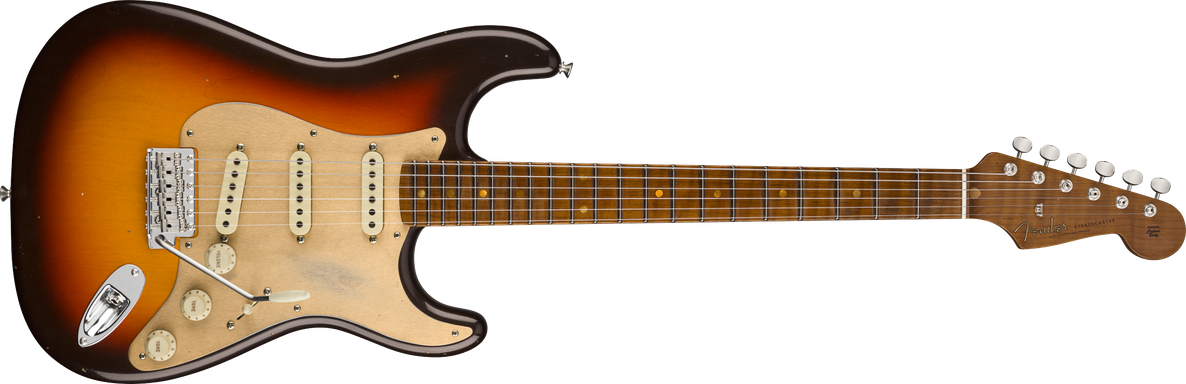 Limited Edition - Limited Edition '58 Special Strat®, Chocolate 3-Color Sunburst, Journeyman Relic®