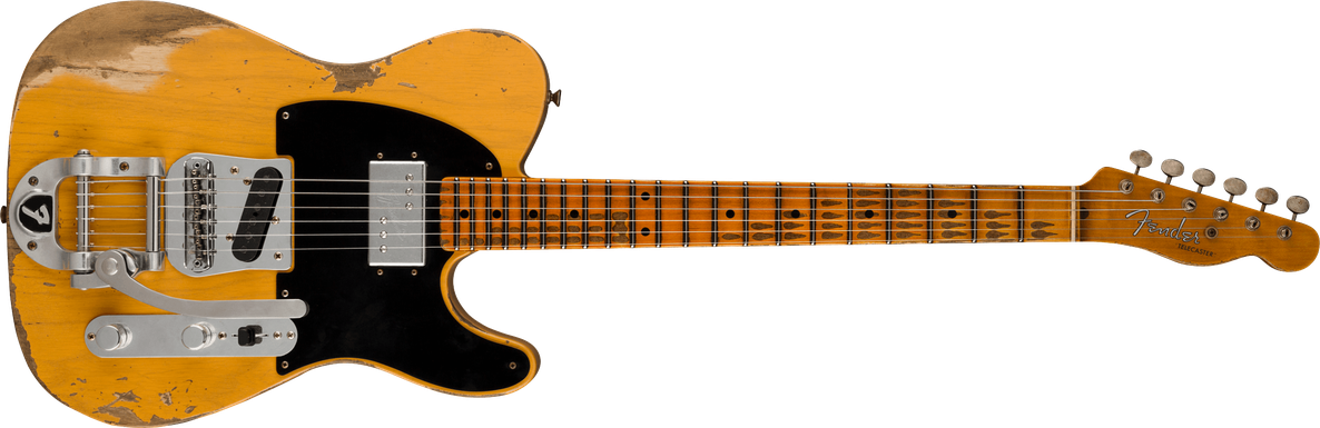 Limited Edition - Limited Edition Cunife Blackguard Tele® Heavy Relic®, Maple Fingerboard, Aged Butterscotch Blonde