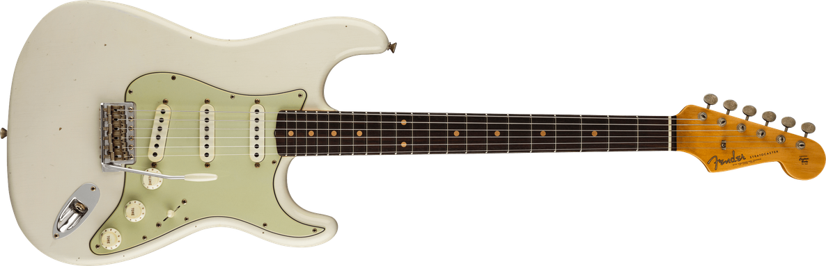 Limited Edition - Limited Edition '62/'63 Stratocaster® Journeyman Relic®, Rosewood Fingerboard, Aged Olympic White