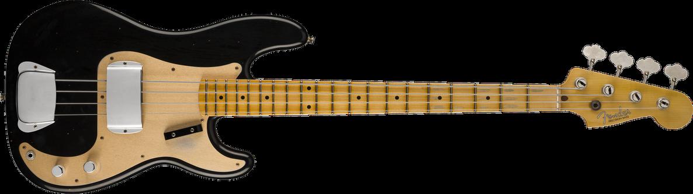 1957 Precision Bass® Journeyman Relic®, Maple Fingerboard, Black