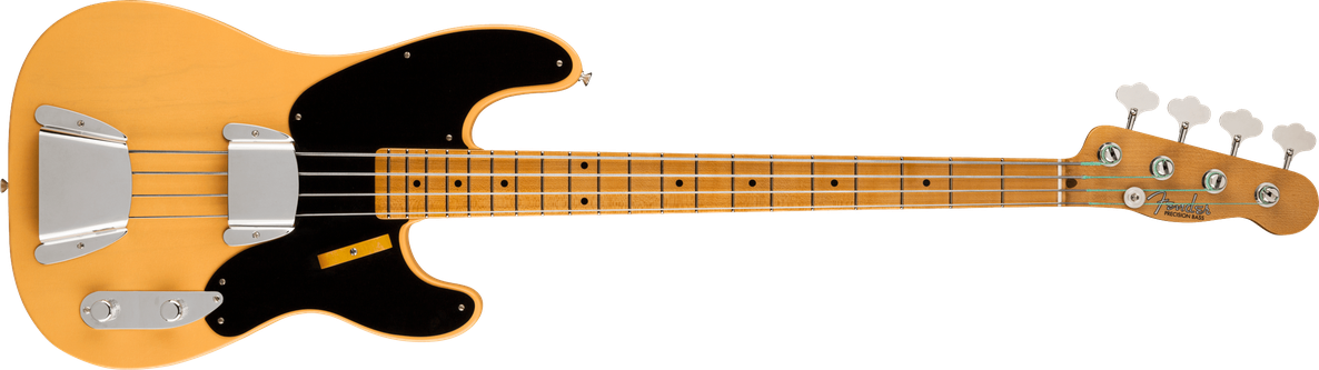 Limited Edition - Limited Edition 1951 Precision Bass® Deluxe Closet Classic, Maple Fingerboard, Nocaster® Blonde